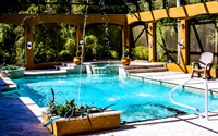 big splash pool residential Swimming pools and Spa Contractor Of Tampa Bay Area