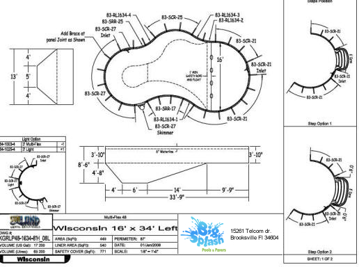 Stages Of The Construction Process Big Splash Pool And Spas Of Tampa Bay